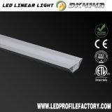 Espulsione di alluminio della Manica dell'indicatore luminoso del nastro della striscia di Dk4143 LED