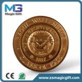 Cadeau de pièce de monnaie de souvenir personnalisé par ventes chaudes en métal