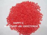 Il colore arancione macchietta le macchioline variopinte del solfato di sodio per il detersivo
