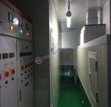 Línea ULTRAVIOLETA automática por cinta transportadora libre de polvo de la pintura a pistola