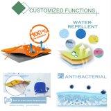 Conception solide personnalisé en PVC/rideaux de douche en vinyle avec oeillets Rustproof