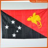 Taille personnalisée 75D polyester Tous les pays à bas prix du drapeau national
