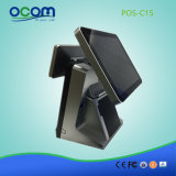 Qualitäts-Gaststätte Positions-System mit Doppelbildschirmanzeige