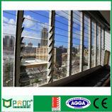 Finestra di vetro della feritoia di ventilazione di alluminio