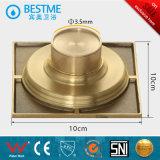 Palero de cobre amarillo caliente del suelo de la buena calidad de Accesotise del cuarto de baño de Selt (BF-K30G)