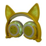 昇進は私用型猫耳のヘッドホーン、LEDの軽いヘッドホーンを所有する