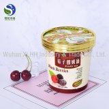 卸し売りカスタム高品質のアイスクリームのためのロゴによって印刷されるアイスクリームの紙コップ
