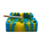 卸し売りカスタム優れた友好的な叩く中心の頑丈な粉砕の耐熱性タバコはシガーのCigarilloのライターの携帯用シリコーンの灰皿を鈍くする