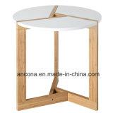 Moderno redonda Tabletop da sala de visitas/de bambu do café extremidade