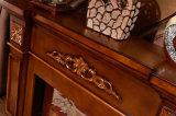 Camino di pietra naturale del Brown per la decorazione dell'hotel e della casa