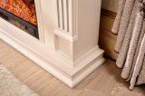 Cheminée moderne d'antiquité blanche de cheminée pour la décoration à la maison