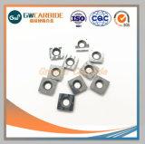 Hartmetall-Einlage für Stahl, Roheisen, Aluminiumausschnitt