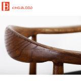Sola silla de madera de los apoyabrazos del sofá de la oficina cómoda con director Price de Whosesale