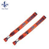 Wristband su ordinazione di sublimazione del poliestere/Wristband del tessuto per il partito