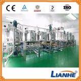 Máquina de emulsión del homogeneizador cosmético del vacío para la crema/el ungüento/la goma