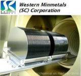 Lastra di silicio di avanguardia del monocristallo di abilità di produzione alla MINMETALS occidentale