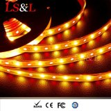 IP33, IP54, IP68 RGB+LED ambre Strip Light de corde pour la décoration de l'éclairage