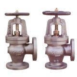 Las válvulas de hierro fundido de marina (ángulo válvulas)