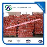 Rete fissa di plastica rossa di alta qualità (VENDITA CALDA)