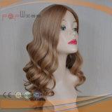 人間の毛髪の皮の上の優雅なかつら(PPG-l-01601)