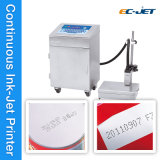 Impresora de inyección de tinta continua del Gemelo-Color para la botella de cerveza (EC-JET920)