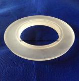 Ring van de Flens van het Kwarts van de isolatie de Ijzige voor het Optische Instrument van de Boiler