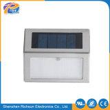 Lumière imperméable à l'eau extérieure solaire de galvanoplastie en aluminium de mur de DEL pour le couloir