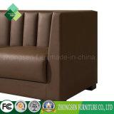 현대 실제적인 가죽 소파는 판매를 위한 3 Seater 소파를 놓았다