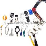 Großhandelsplastik-Identifikation-Abzeichen Retractabel Bandspule