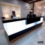 Scrittorio di ricezione caldo della mobilia LED del salone di bellezza di vendita 2017