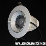 Stromversorgung LED Downlight des Hight Qualitätsreine Aluminium-7W SMD