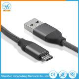 Micro cavo personalizzato del caricatore di dati del USB del telefono 5V/2.1A