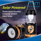 Indicatore luminoso ricaricabile di campeggio solare della lanterna LED della lanterna popolare dello schermo 2018 con il cavo della carica