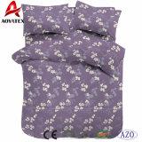 中国製花の印刷4PCSポリエステル寝具セット、