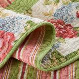 Настраиваемые Prewashed прочного удобные кровати стеганая 3-х покрывалами с Coverlet свежих отпечатках