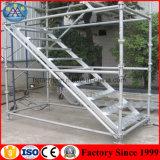 Andamio usado de acero galvanizado de la construcción de sistema del andamio de Cuplock para la venta en los UAE