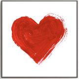 Самомоднейшая картина искусствоа украшения сердца с изготовленный на заказ деревянной рамкой