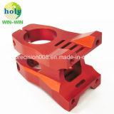 CNC die Geanodiseerde Douane 6061 machinaal bewerken T6 de Machinaal bewerkte Delen van het Aluminium Auto