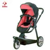 Carrinho de criança de bebê com assento do frame e da pressão quente