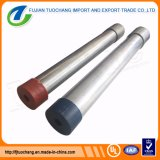 Q235 Hot DIP Tube en acier galvanisé conduit BS4568