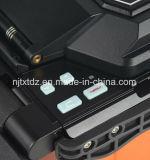 Encoladora de múltiples funciones de la fusión de la sola base de fibra óptica (T-207X)
