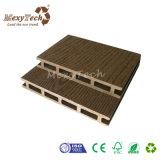 Decking composé en bois extérieur bon marché moderne des graines WPC pour le jardin
