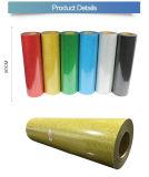 Commerce de gros de la qualité de la Corée Glitter holographique de feuilles en vinyle de transfert de chaleur