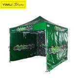 la tenda del baldacchino 10X10 schiocca in su la tenda per la pubblicità della visualizzazione