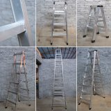 Única escada de alumínio de solda agronómica do metal da etapa de Rod Widden