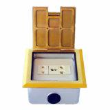 Quare goldener Kupferlegierung-geöffneter Typ Fußboden-Kontaktbuchse