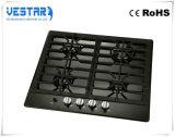 Fogão do equipamento da cozinha que cozinha o fogão de gás