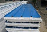Серо-белый цвет оцинкованного стального листа EPS Сэндвич панели крыши