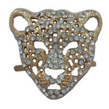 Acessórios do ornamento da sapata da jóia do Rhinestone de Hotselling, curvatura do metal