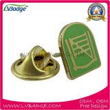 주문 로고 금속 접어젖힌 옷깃 Pin